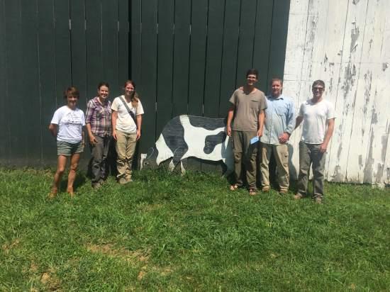 2016 Farm crew: (minus Savannah who has class :( boo!)
